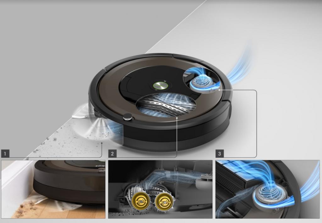 Roomba 3 способа очистки